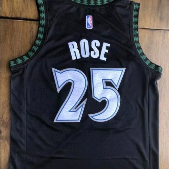 cheap for discount 391e7 c10d6 Minnesota Timberwolves DERRICK ROSE #25 jersey
